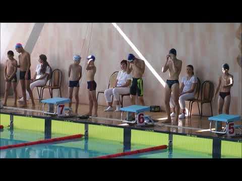 Плавание эстафета юноши