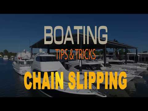 Marine Tips & Tricks   Anchor Chain Slipping - how to prevent it