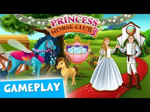 ROYAL WEDDING Dress Up, Decor & Party - Princess Horse Club 3 - TutoTOONS Cartoons & Games for Kids - 동영상