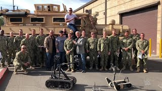 NXT Superstar and former Marine Steve Cutler reveals the importance of WWE Tribute to the Troops