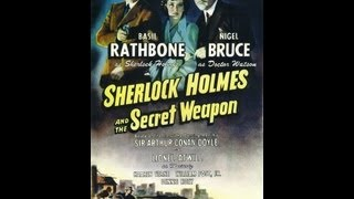 SHERLOCK HOLMES Y EL ARMA SECRETA (SECRET WEAPON, 1943, Full Movie, Spanish, Cinetel)
