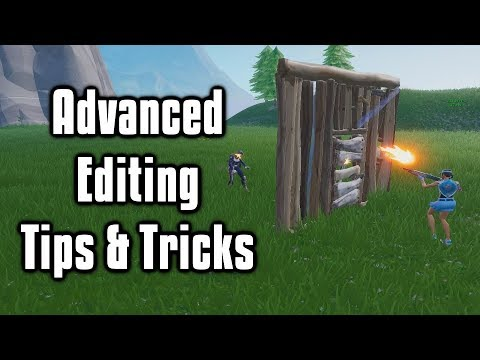 Advanced Editing Tips & Tricks You Need To Learn! - Fortnite Battle Royale