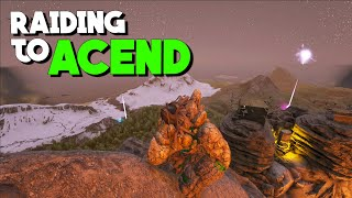 ONLINE WIPING A TRIBE TO DO ASCENSION! - MTS 3 Man ARK: Survival Evolved S1.Ep21  PvP Lets play