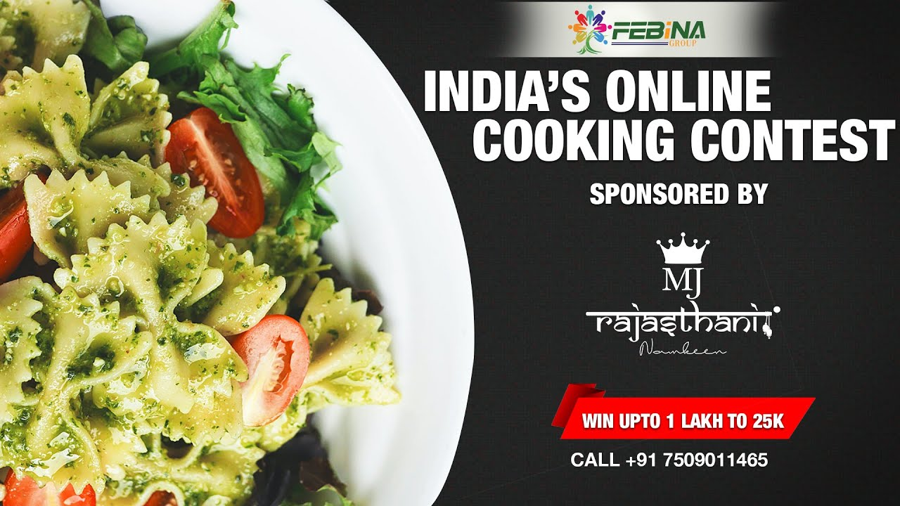 India's Online Cooking Competition