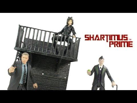 Gotham Wave 1 Jim Gordon Selina Kyle and The Penguin Diamond Select Toys TV Series Aciton Figure Rev