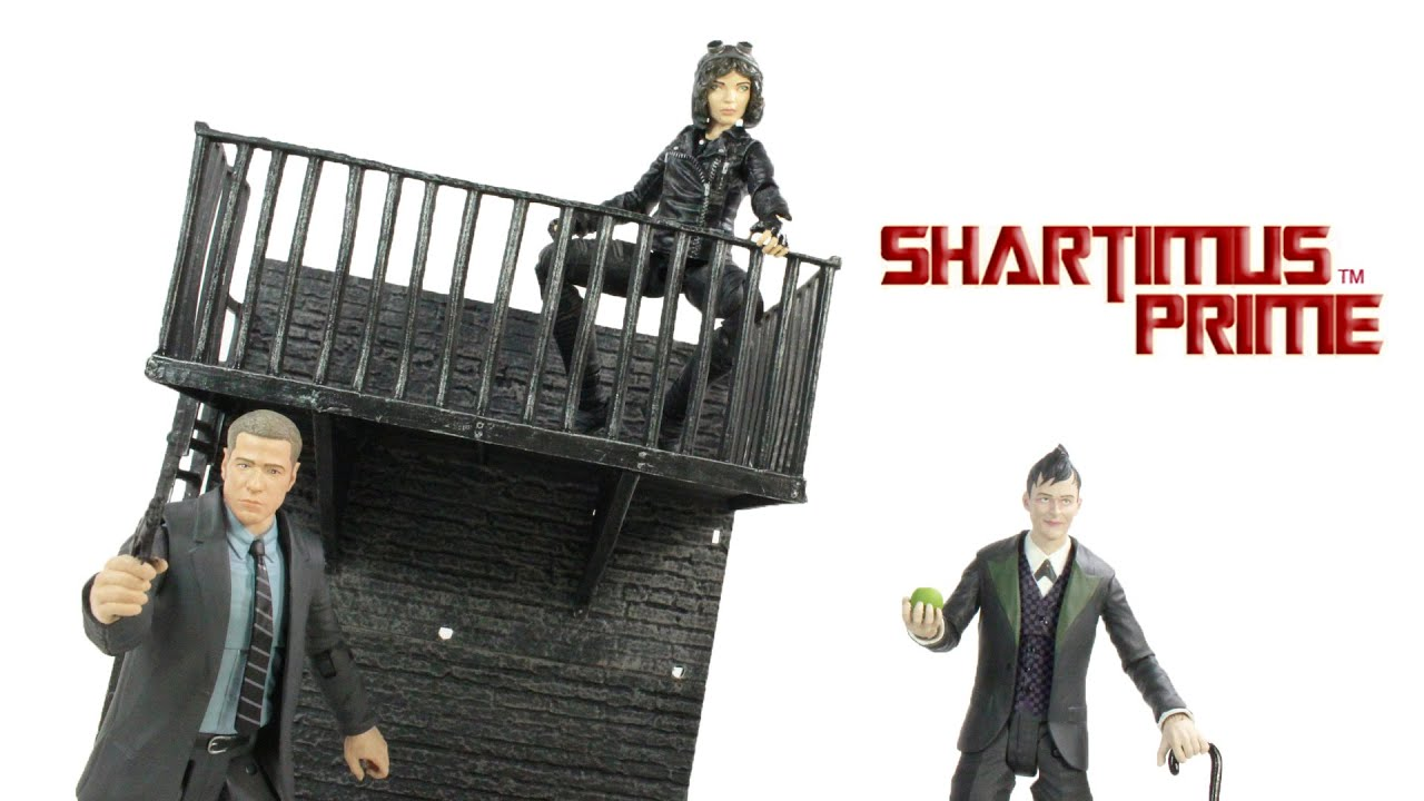 gotham wave 1 jim gordon selina kyle and the penguin