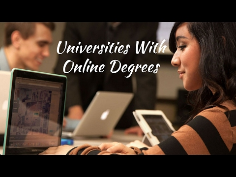 Universities With Online Degrees