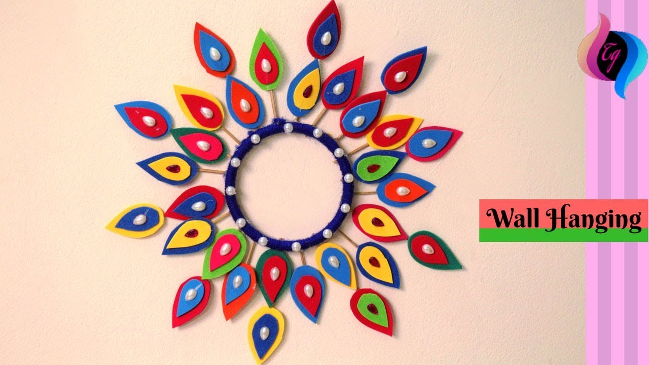 How To Make Wall Hanging Craft Ideas Wall Hanging Paper Decoration