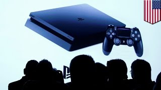 PlayStation 4 Pro unveiled at monumental Sony press reveal, along with slimmer PS4 - TomoNews(NEW YORK — There have been rumblings throughout the gaming world for months about developments for the PlayStation console, and gamers will be happy ..., 2016-09-08T10:47:54.000Z)