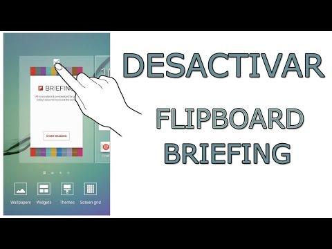 Como desactivar y quitar Flipboard Briefing de los Samsung Galaxy