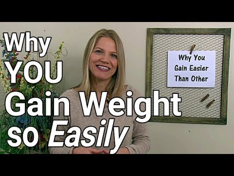 Do You Gain Weight Faster Than Your Friends?