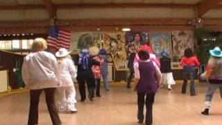 BAL SPECIAL ELEVES DE DESTINATION COUNTRY section danse 8 FEVRIER 2009