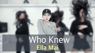 인천댄스학원 리듬하츠 | 걸스힙합 스폐셜 B | Ella Mai - Who Knew