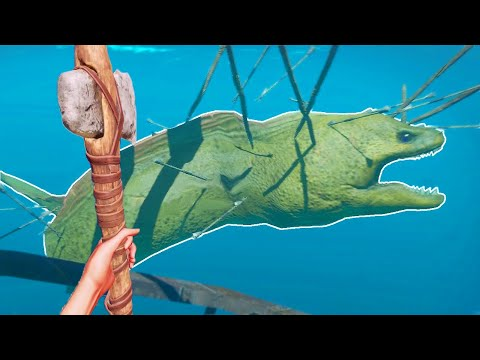 GIANT EEL BOSS FIGHT!!! (Stranded Deep Playthrough)