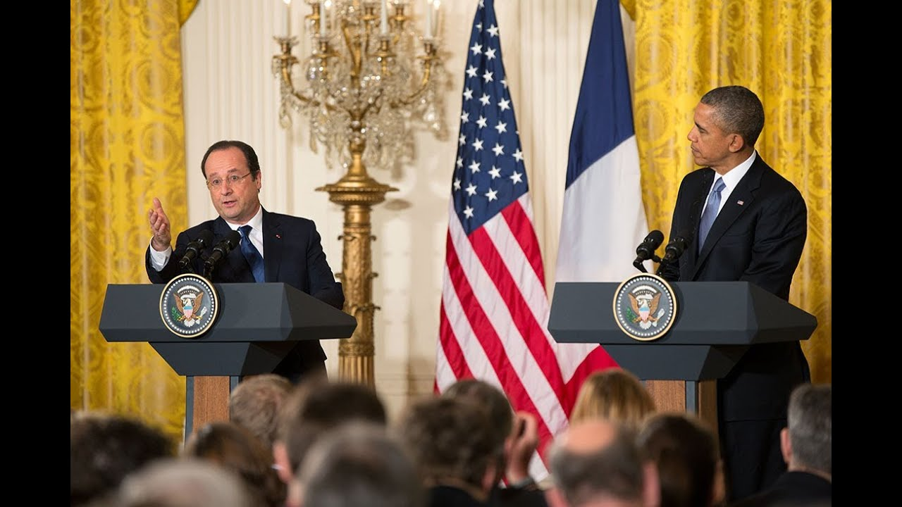 President Obama Holds a Press Conference with President Hollande of France - YouTube