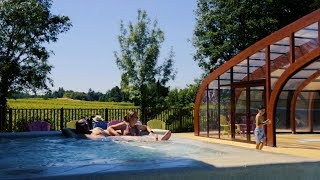 Camping Yelloh Village Saint Emilion - Espace baignade - Camping Gironde - Camping Aquitaine