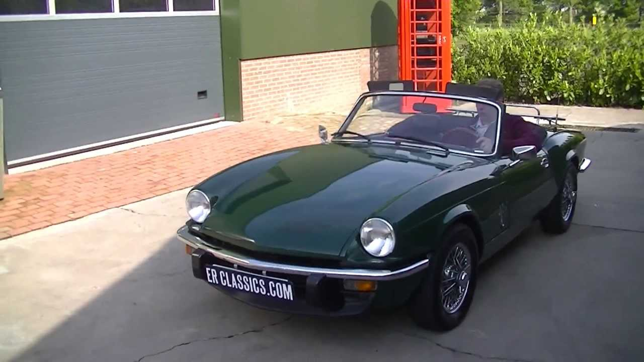 triumph spitfire 1500 1977 powerbrakes overdrive video. Black Bedroom Furniture Sets. Home Design Ideas