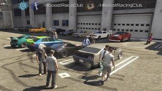 Grand Theft Auto V Online (PS3)   Street Car Meet Pt.11   Blista Build, Drags, Highway Pulls & More