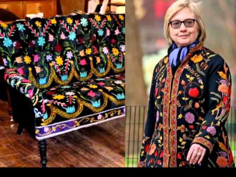 The Upholstery Fashion of Hillary Clinton