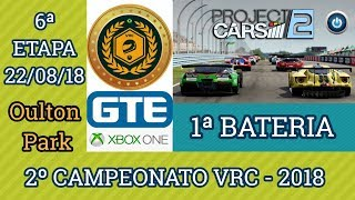 1ª Bateria da 6ª Etapa do 2º Campeonato VRC 2018 - GTE
