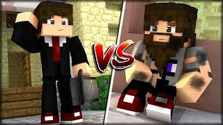 MINECRAFT RICO VS POBRE  -  MACHINIMA