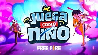 ¡Juega como niño! ✨🛫 - Animación | Garena Free Fire