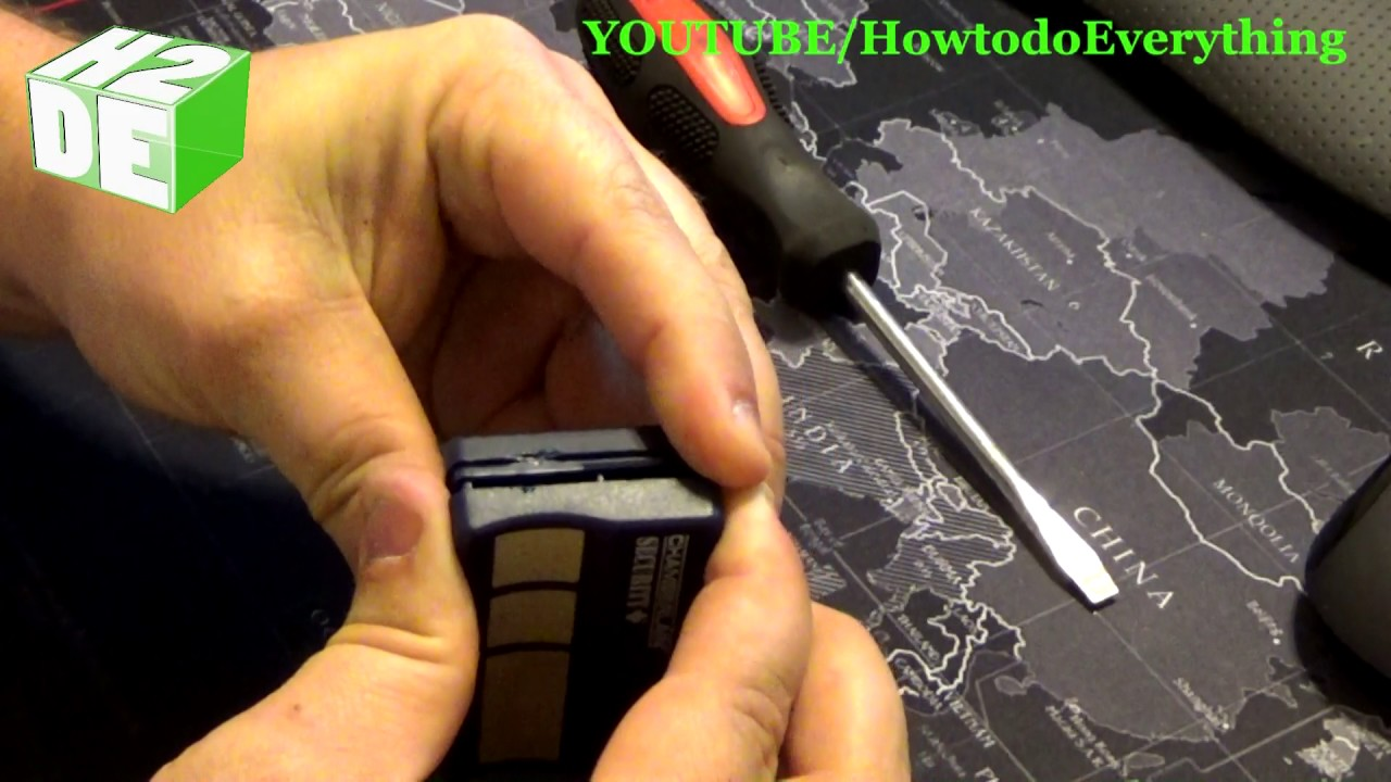 Tutorial Change The Battery In Your Garage Door Opener How To
