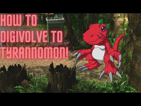 Digimon World 1 - How to digivolve to Tyrannomon