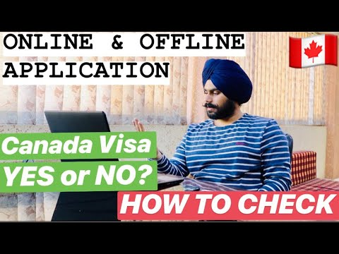 Online And Offline Student Visa File    How To Track Canada Visa Application  