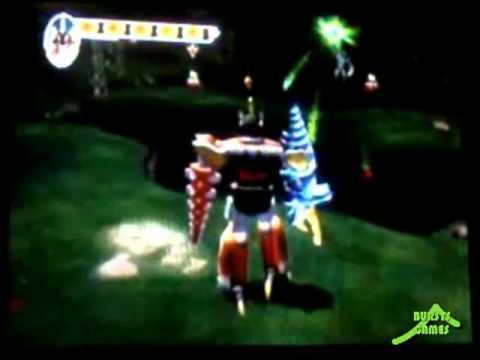 Gameplay Power Rangers Dino Thunder Ps2 Parte 3 Refside