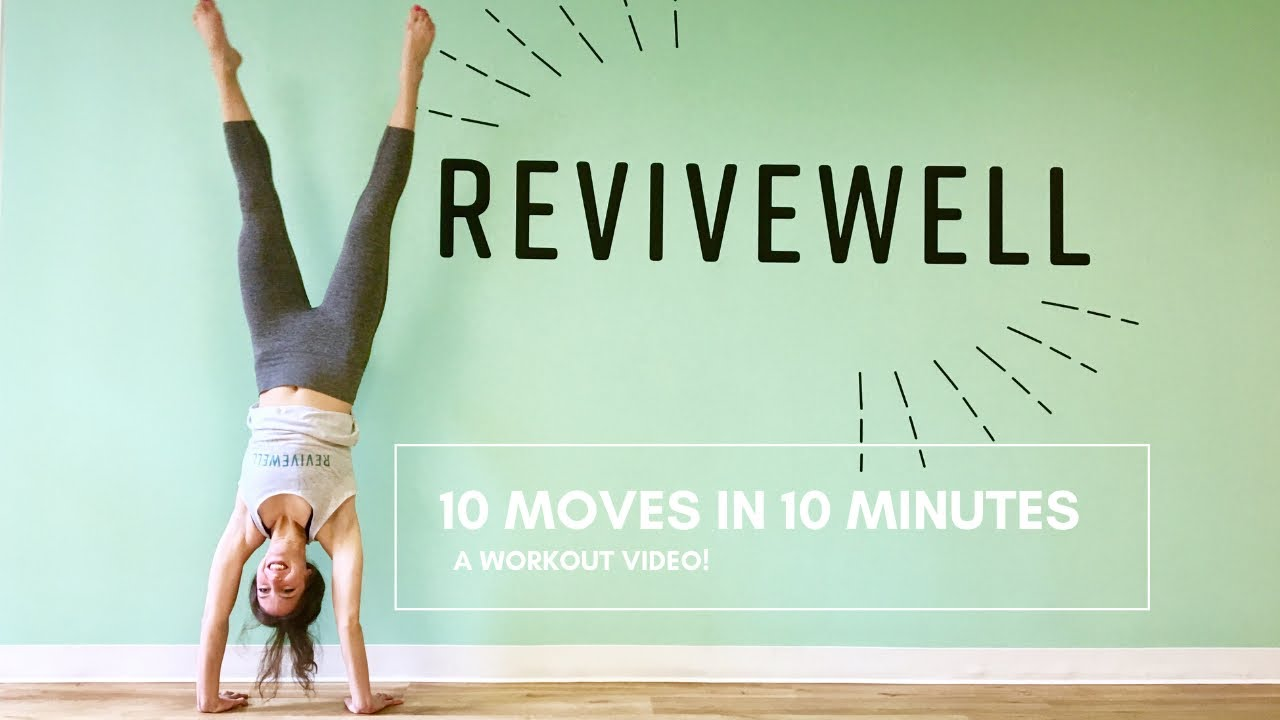 10 Moves in 10 Minutes - a workout video