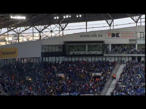 Fans Club Brugge Treiteren AA Gent Met Ludieke Eendjes-actie