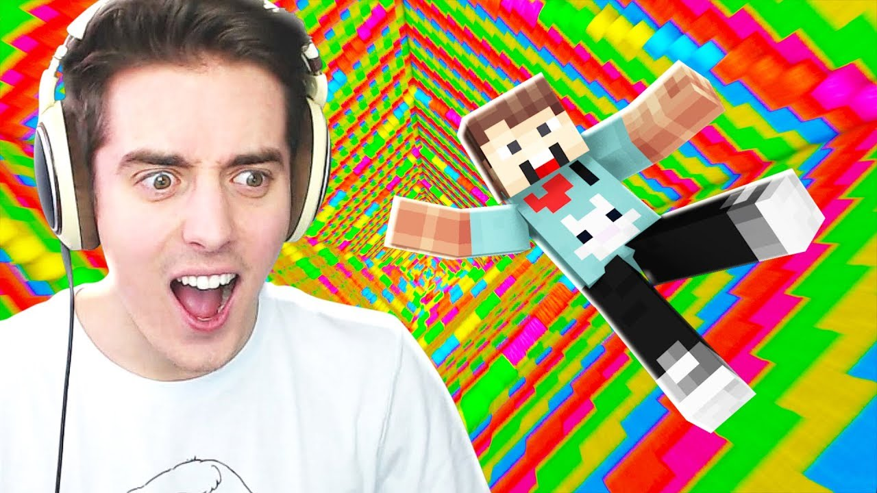 DENIS vs THE ULTIMATE MINECRAFT DROPPER!
