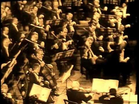 MONTEUX in his 80's HAYDN 'SURPRISE' Symphony.wmv
