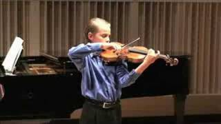 Sebastian Carrasco (12 years old) / Sicilienne and Rigaudon, by Fritz Kreisler