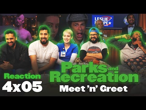 Parks And Recreation - 4x5 Meet 'n' Greet - Group Reaction