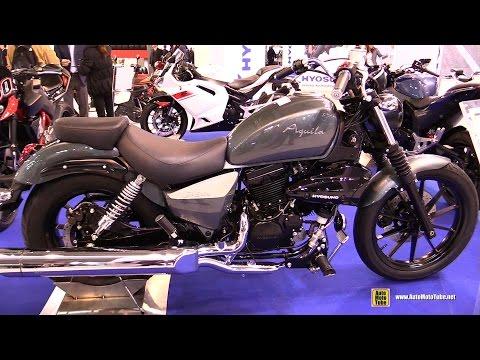 2016 Hyosung Aquila GV300 - Walkaround - 2015 EICMA Milan