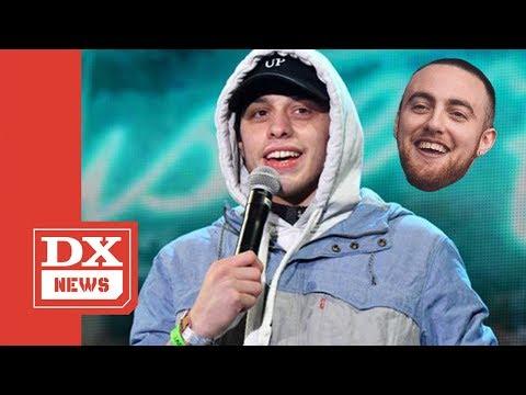 Pete Davidson Boots Heckler Over Mac Miller Joke
