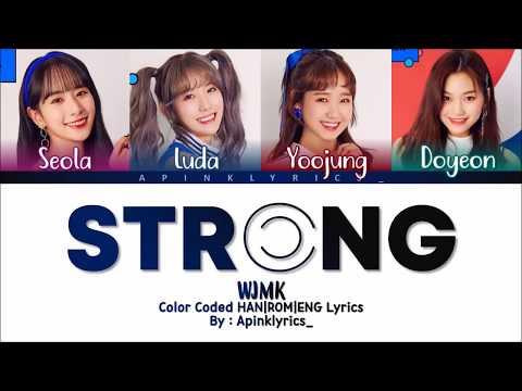 WJMK (우주미키) - Strong (짜릿하게) [HAN|ROM|ENG] Color Coded Lyrics