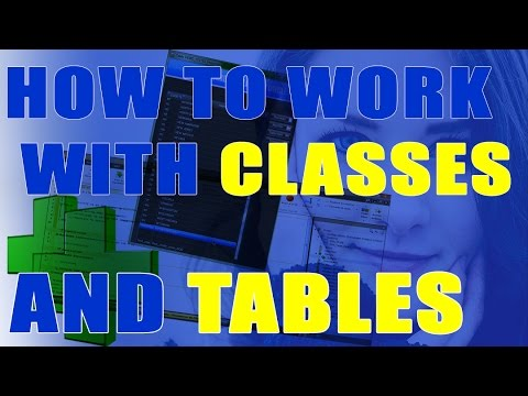 HOW TO WORK WITH CLASSES & TABLES IN WINDEV