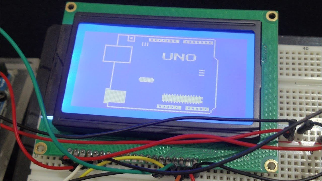 Lcd hookup guide