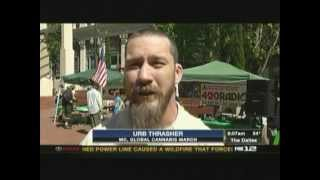 Global Cannabis March 2013 - Portland, Oregon - KPTV