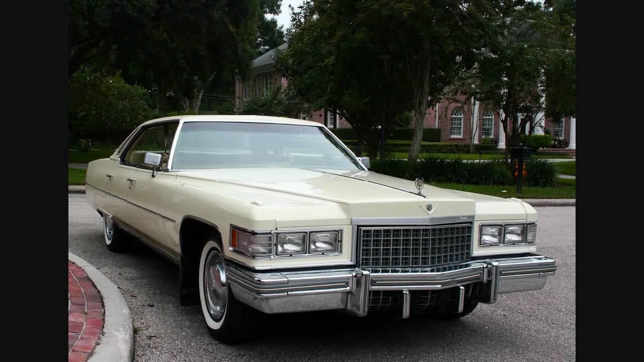 1975 Cadillac De Ville Youtube