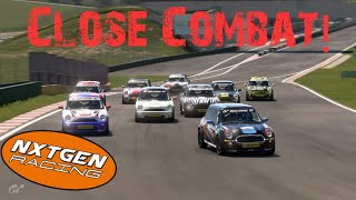 GT Sport | NGR Chewitt Mini Cooper Cup | Lago Maggiore | Pro lobby commentary