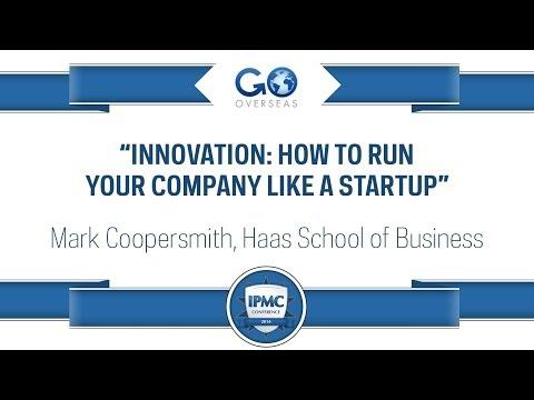 IPMC 2014: Mark Coopersmith, Haas School of Business