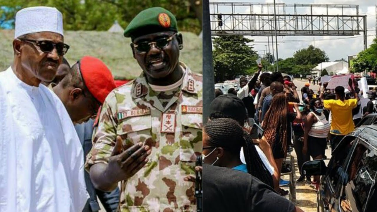 BREAKING: BURUTAI SET TO D€ÞLOY ŞØLD1€RS TO FØRC€ #ENDSARS PROTESTERS OUT OF THE STREETS