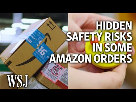 The Hidden Safety Risks Of Your Amazon Order | WSJ