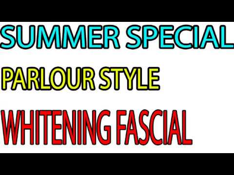 Desi Nuskha -SUMMER  WHITENING FACIAL