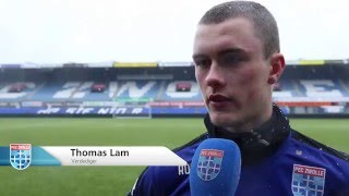 Voorbeschouwing PEC Zwolle - De Graafschap