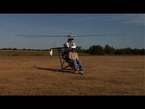 Doug Bryant & His Mosquito Helicopter